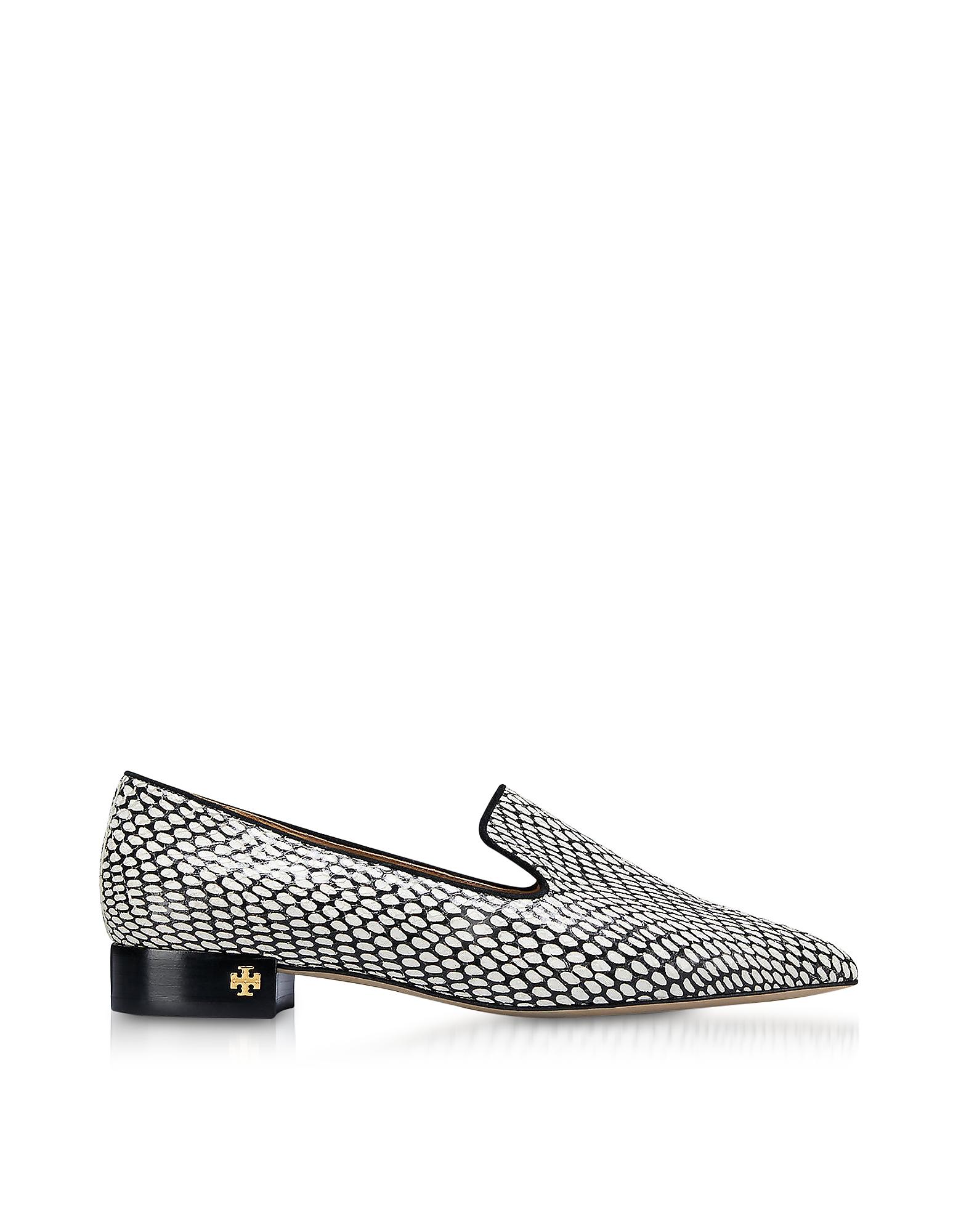 Tory Burch Shoes, King Cobra Pascal Smoking Slippers