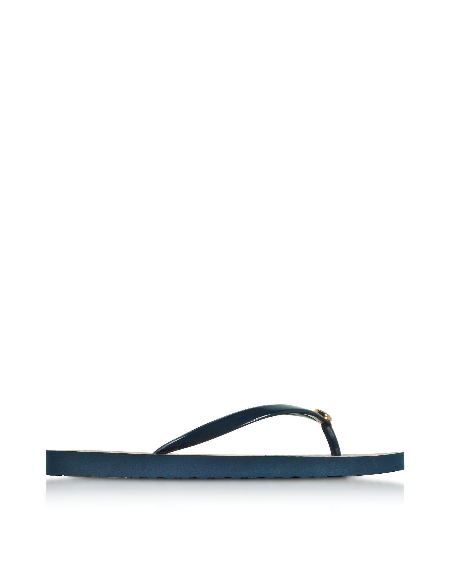 Tory Burch Shoes, Thin Tory Navy and Psychedelic Geo Flip Flop