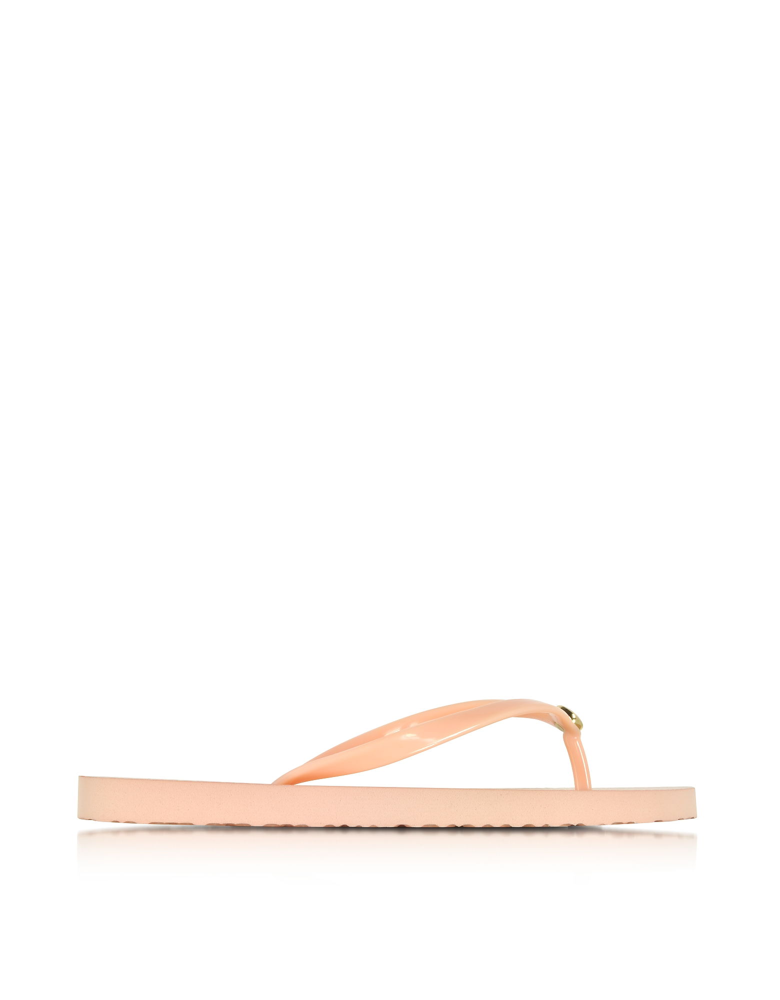 Tory Burch Shoes, Thin Solid Perfect Blush Flip Flop w/Signature Logo