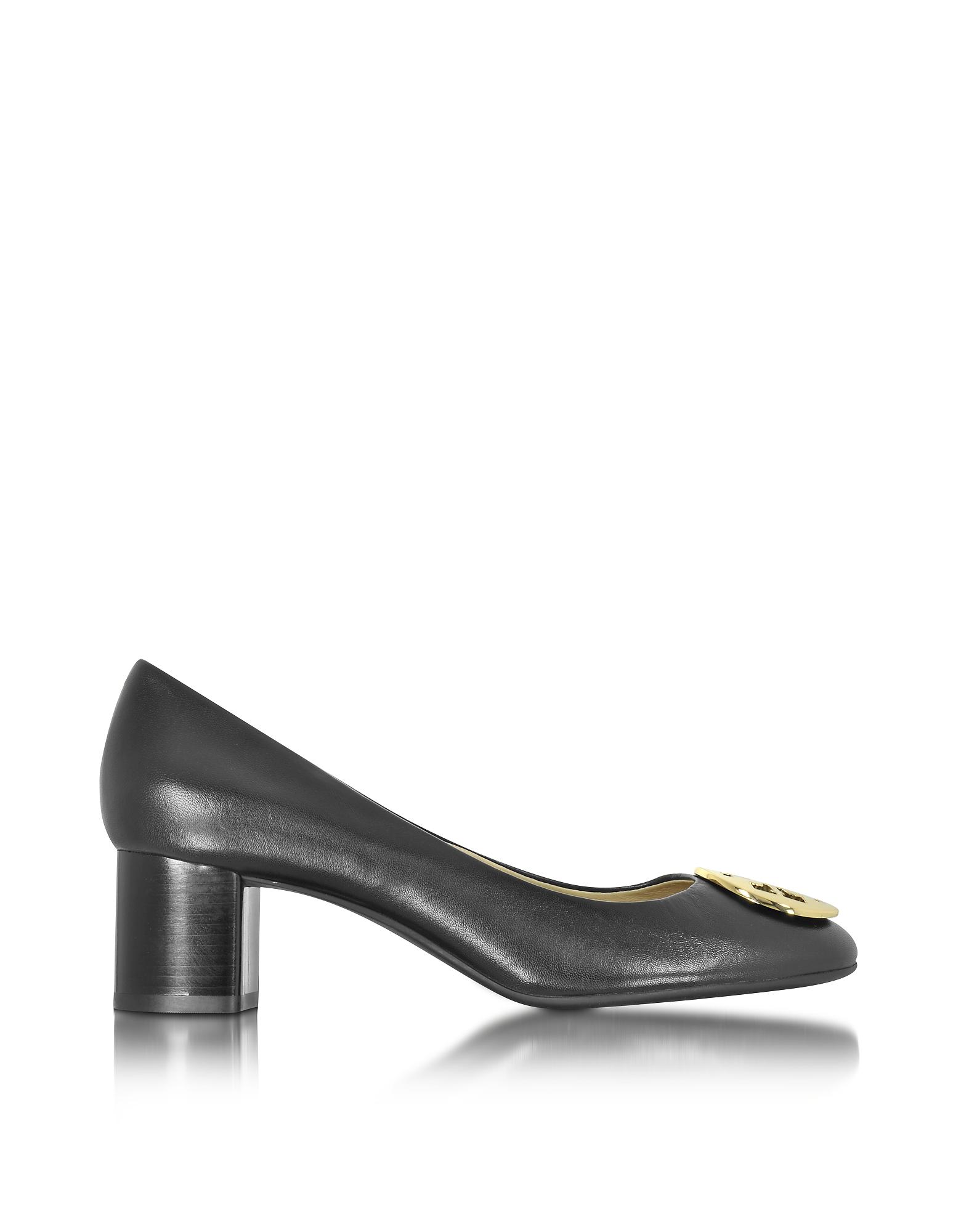 Hope - Черные Туфли-Лодочки из Кожи Наппа