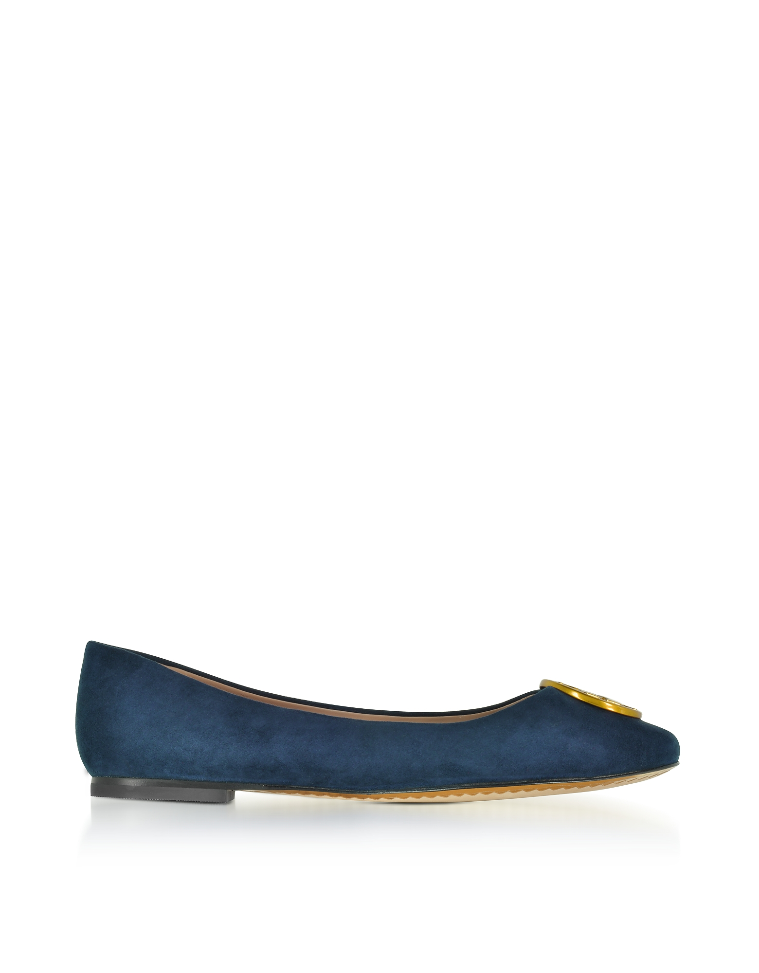 Tory Burch Shoes, Chelsea Royal Navy Suede Ballet Flats