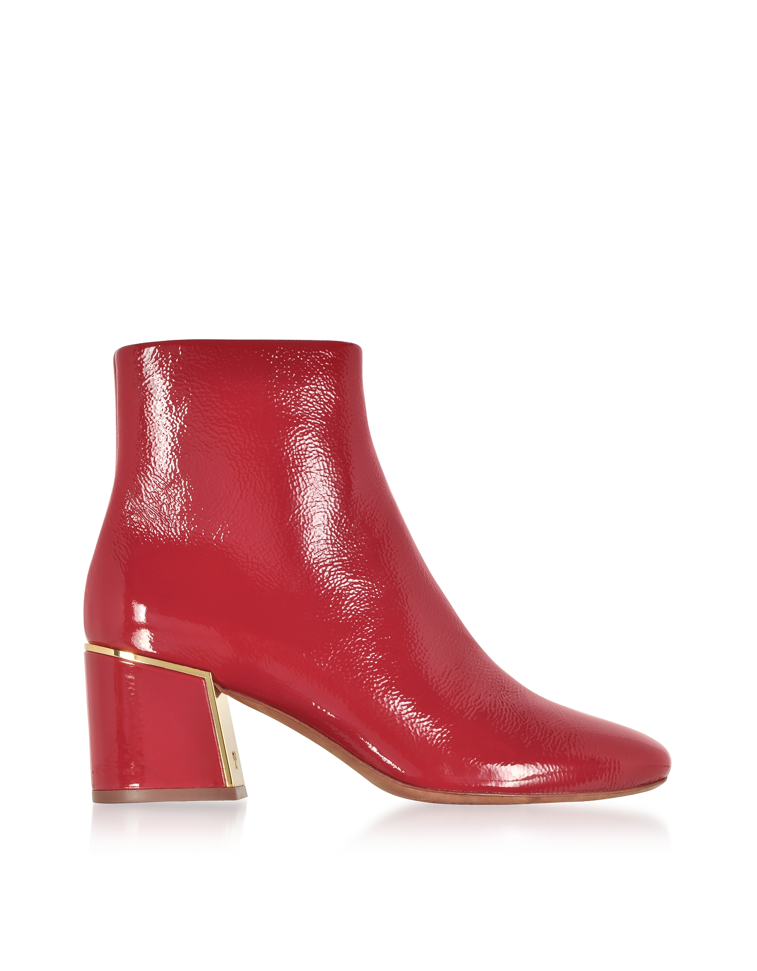 Dark Redstone Juliana Booties, Burgundy