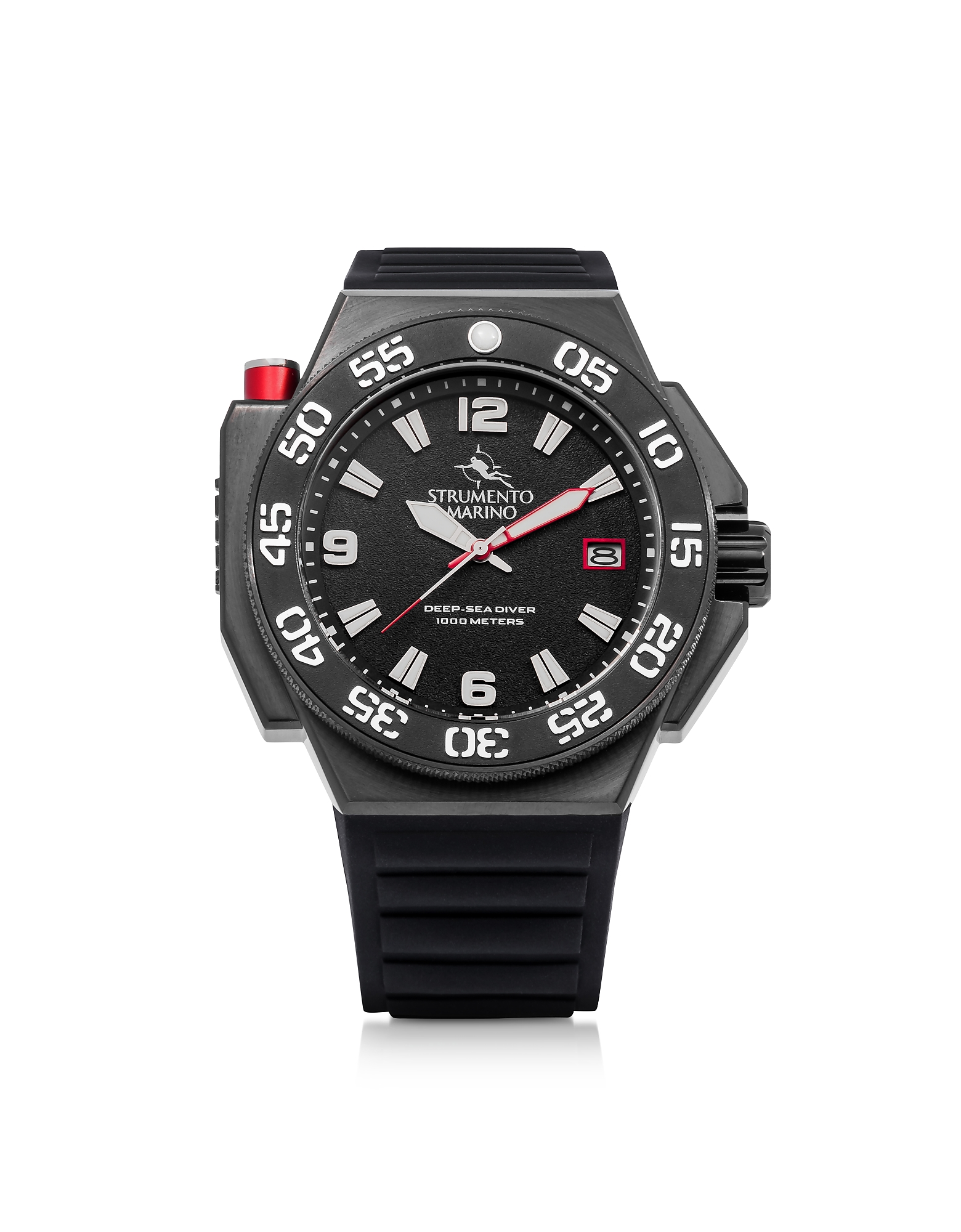 Abisso Black Stainless Steel Men's Watch