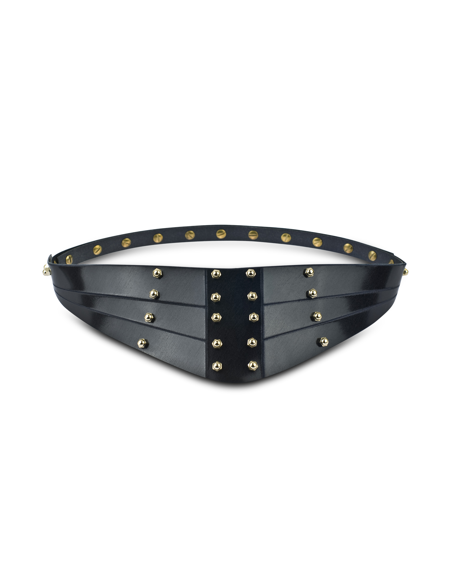 Image of Navy Blue Warrior Back Belt