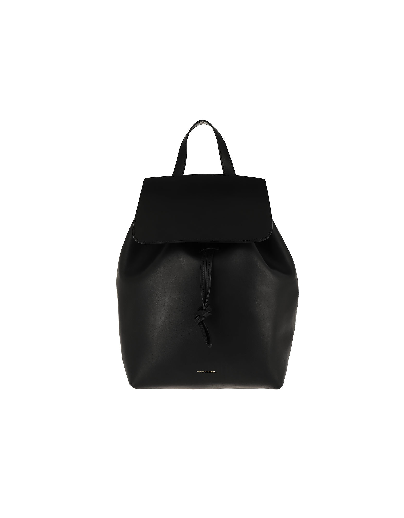 Brandy Backpack Leather Black Raw