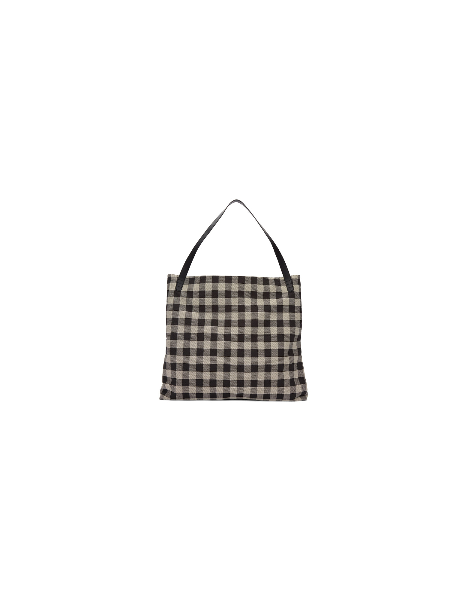 Mansur Gavriel Designer Handbags, Black and White Oversized Shoulder Hobo Bag