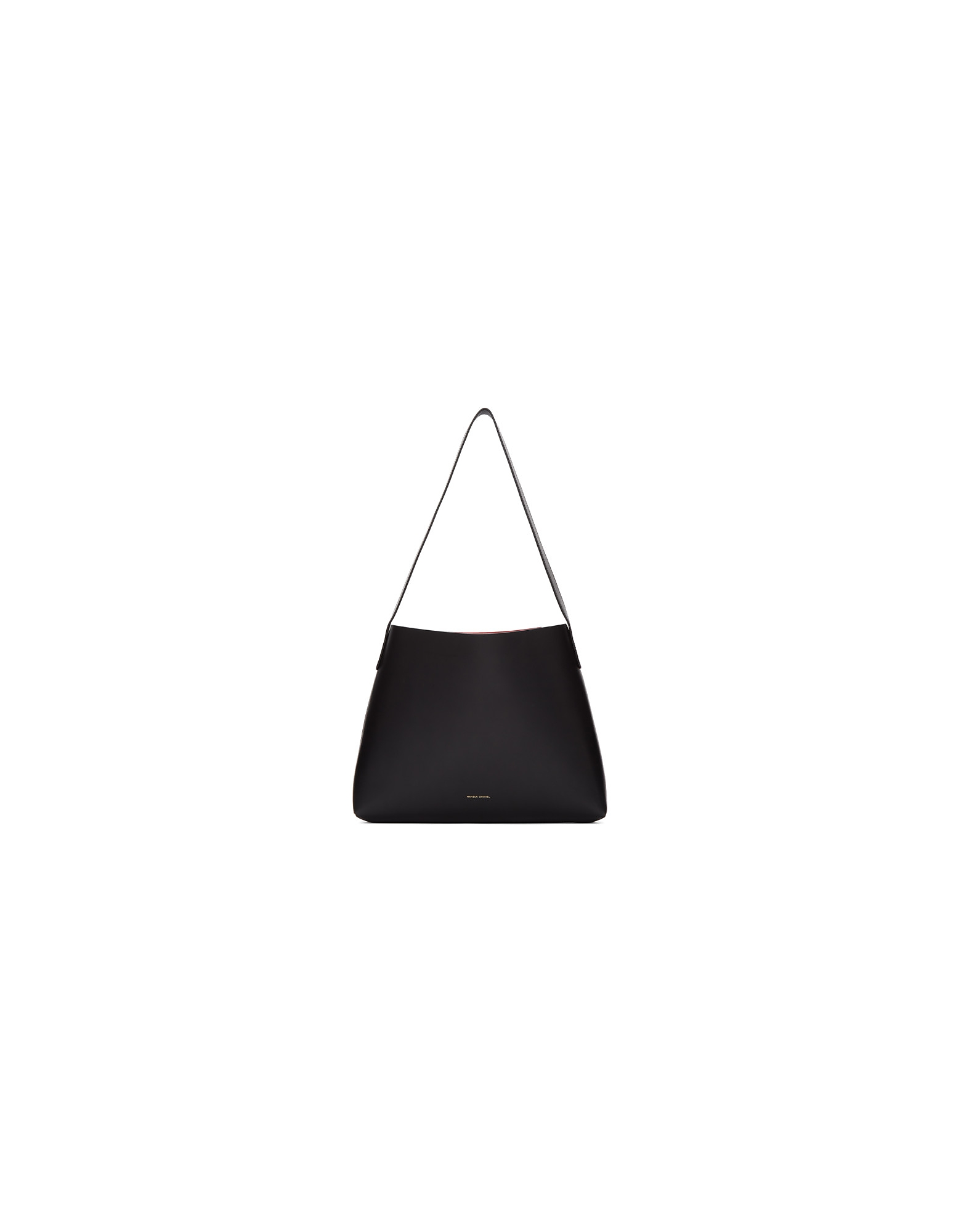 Mansur Gavriel Designer Handbags, Black Small Hobo Tote