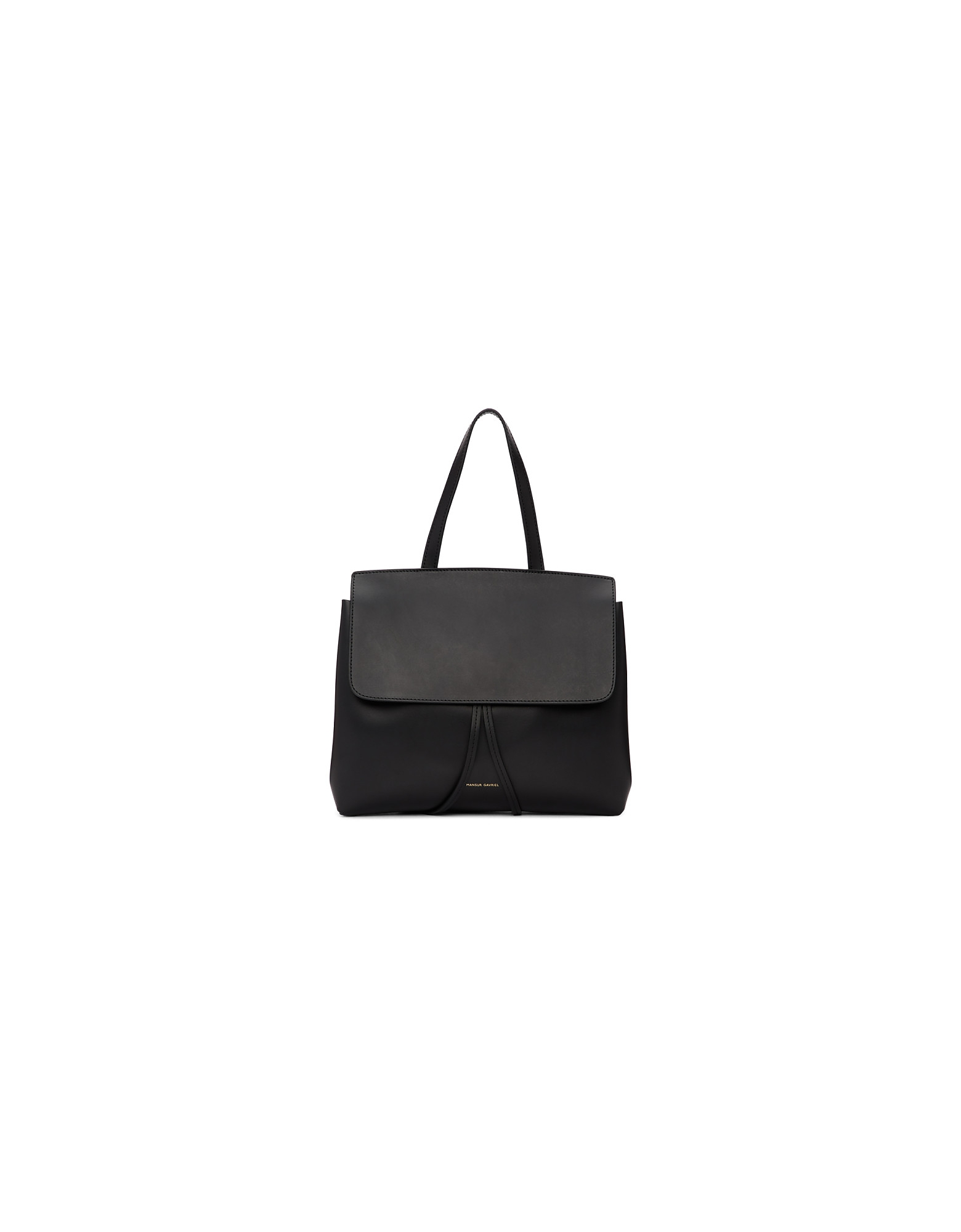 Mansur Gavriel Designer Handbags, Black Mini Lady Bag