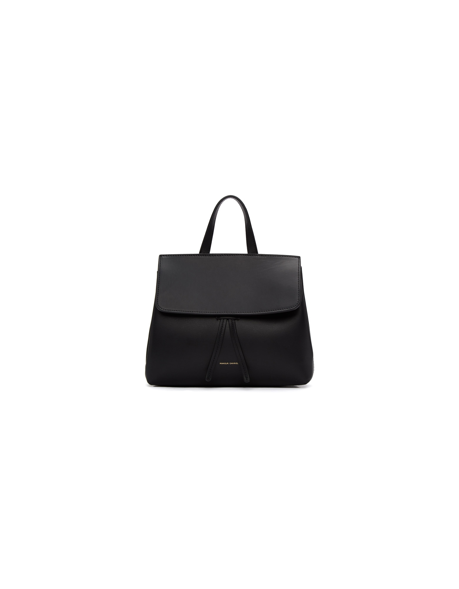 Mansur Gavriel Designer Handbags, Black Mini Mini Lady Bag
