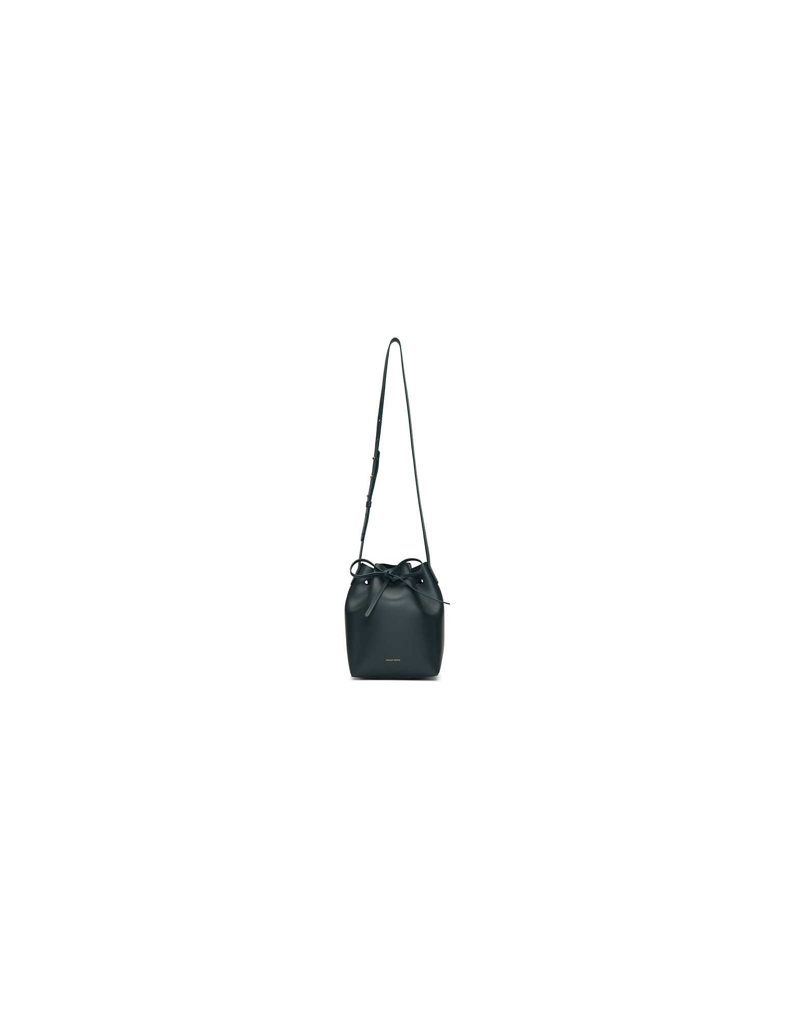 Mansur Gavriel Designer Handbags, Navy Mini Bucket Bag