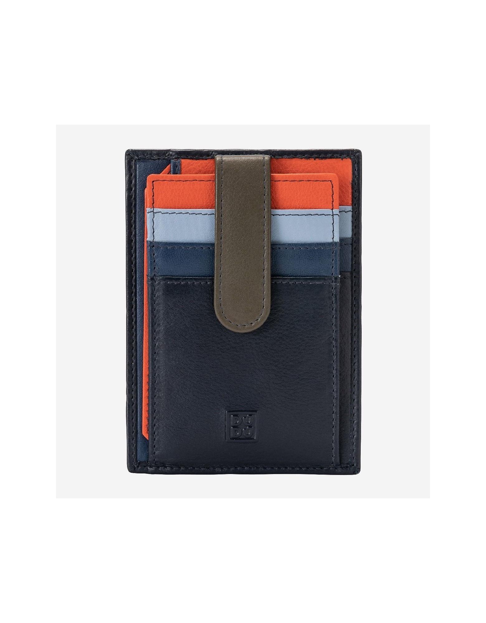 Dudubags Designer Wallets, Blue Wallet