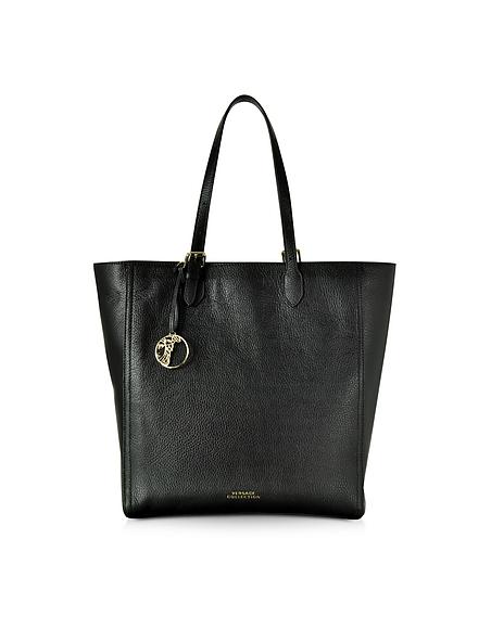 Foto Versace Collection Shopper Grande in Pelle Nera Borse donna
