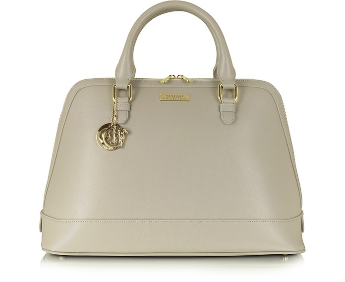 Large Saffiano Leather Tote - Versace Collection