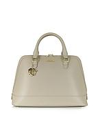 Versace Collection Borsa a Mano in Pelle Saffiano Sabbia - versace collection - it.forzieri.com