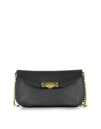 Alce Black Leather Shoulder Bag