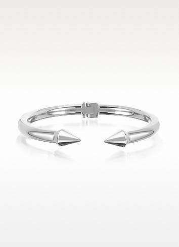 Silver Plated Mini Titan Bracelet - Vita Fede