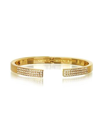 Vita Fede - Diviso Gold Tone Crystal Bracelet