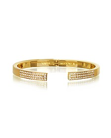 Diviso Gold Tone Crystal Bracelet - Vita Fede