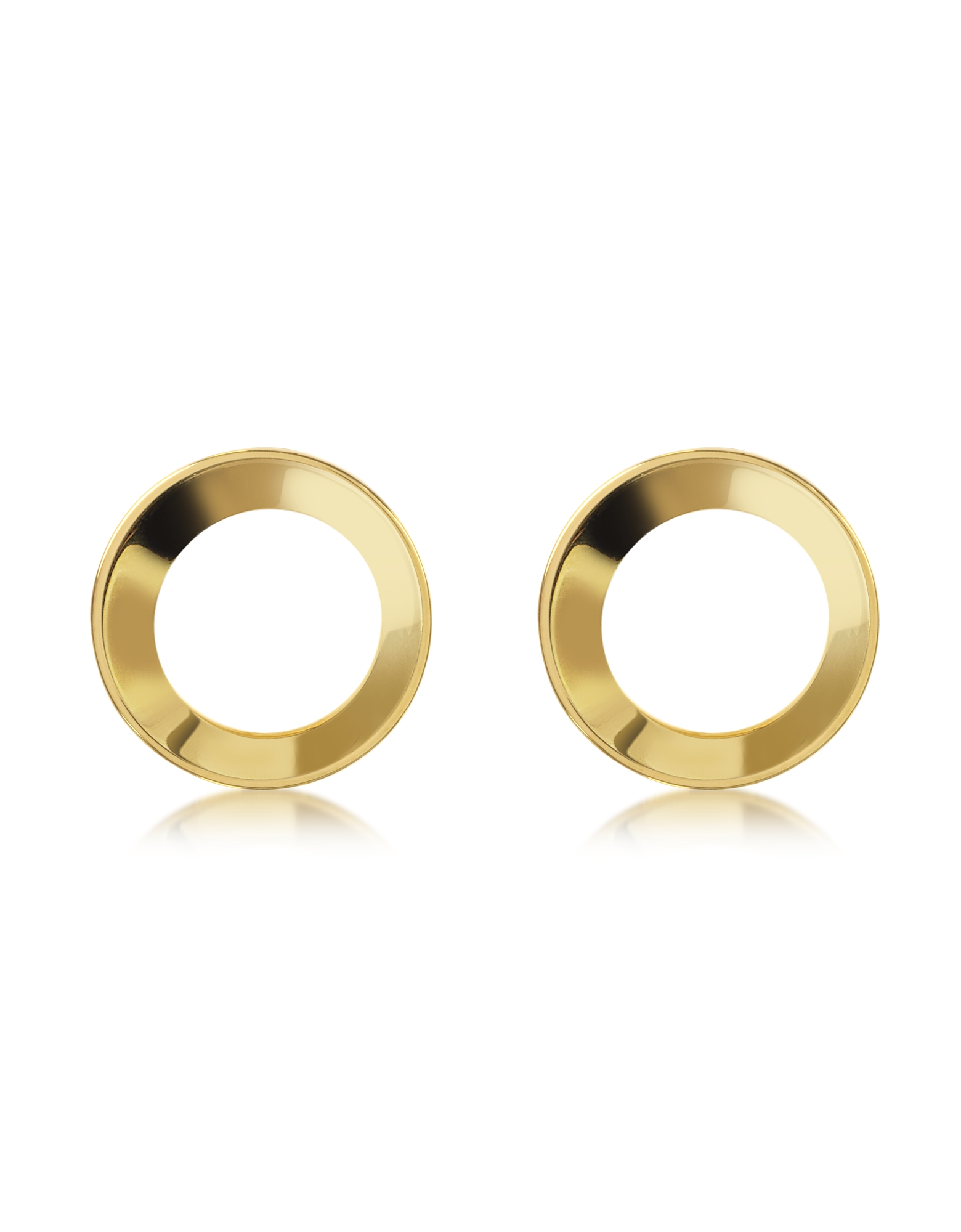 Vita Fede Earrings, Mini Cosimo Gold Tone Earrings
