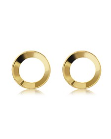 Mini Cosimo Gold Tone Earrings - Vita Fede