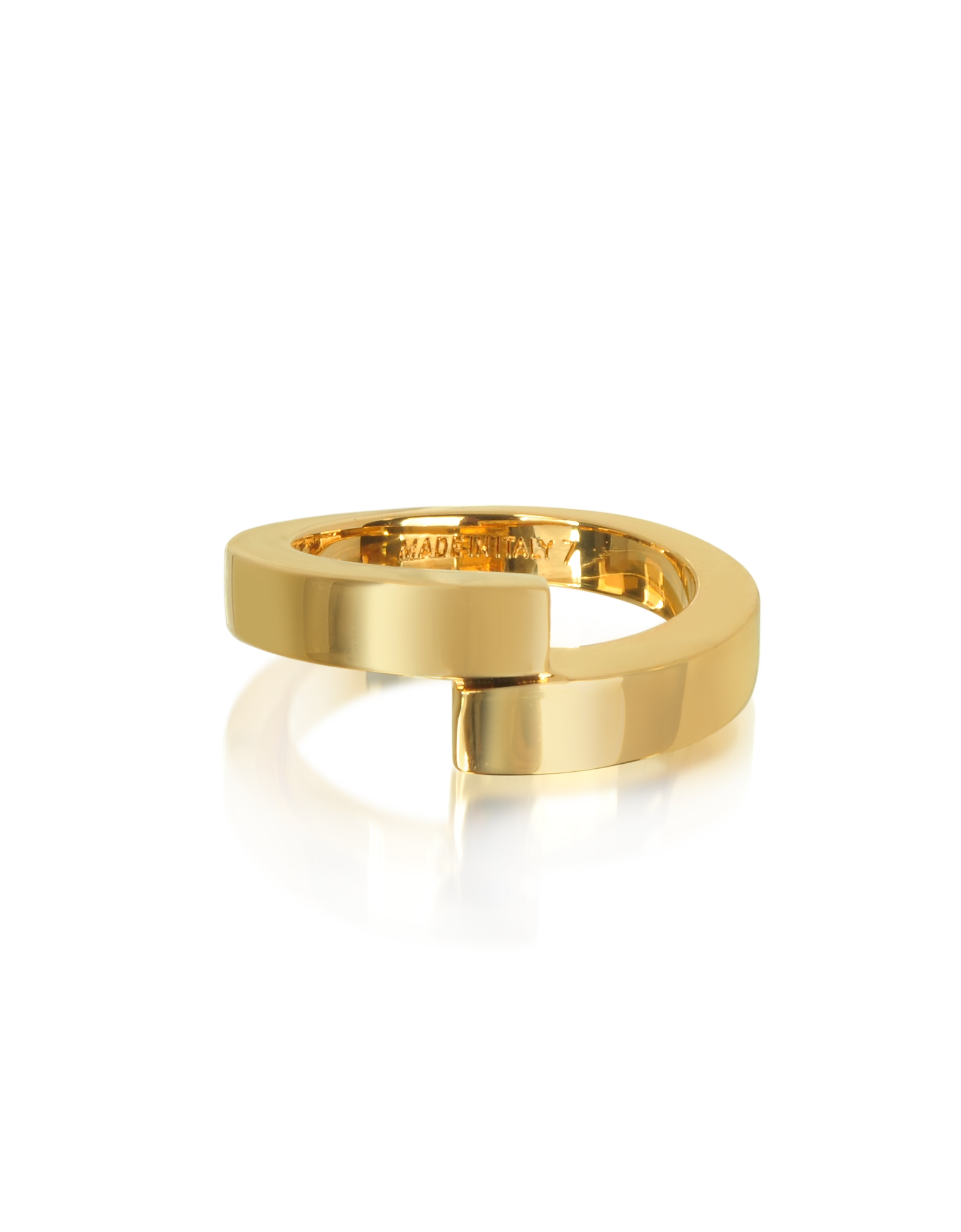 Vita Fede Rings, Mare Gold Tone Ring