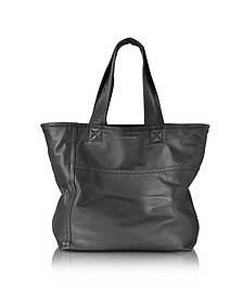 Smooth Black Nappa Sunday Bag - Victoria Beckham