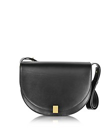 Half Moon Box Leather Shoulder Bag - Victoria Beckham