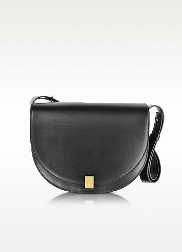 Half Moon Box Leather Shoulder Bag - Victoria Beckham
