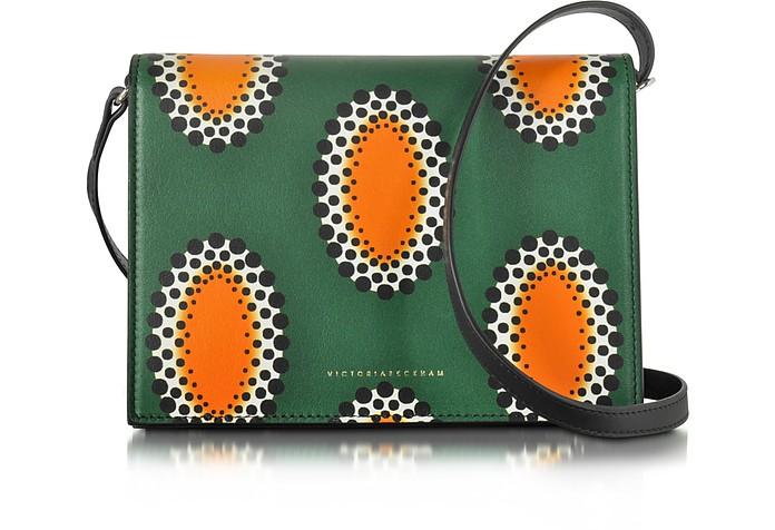 African Print Nappa Star Shoulder Bag - Victoria Beckham