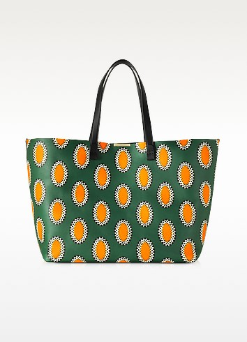African Print Nappa Simple Shopper - Victoria Beckham