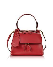 Mini Full Moon Handtasche aus Leder mit Riemen - Victoria Beckham
