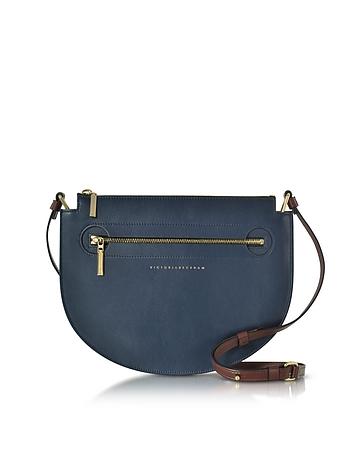 Victoria Beckham New Moonlight Bag Borsa con Tracolla in Pelle Color Block