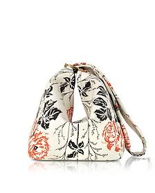 Tissue Flower Print Handtasche aus Leder - Victoria Beckham
