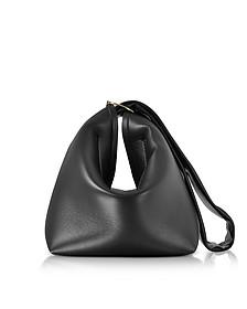 Tissue Handtasche aus Nappaleder in schwarz - Victoria Beckham