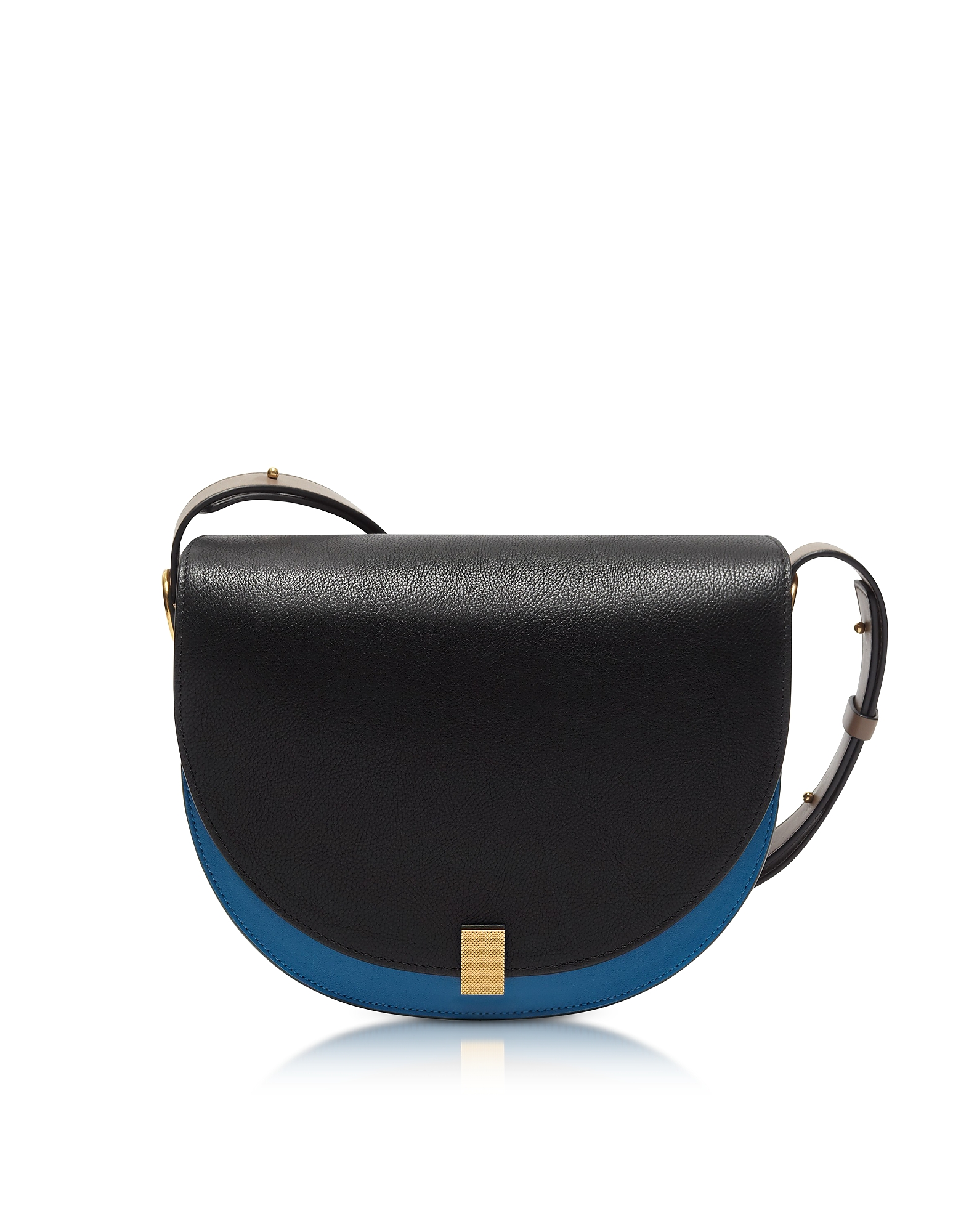 Victoria Beckham Handbags, Multimaterial Half Moon Box Shoulder Bag