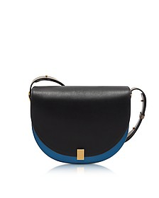 Multimaterial Half Moon Box Shoulder Bag - Victoria Beckham