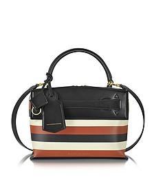 Small Picnic Bag mit Streifen multicolor - Victoria Beckham