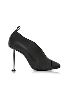 Pin Black Leather Pump - Victoria Beckham