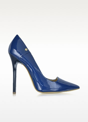 Patent Eco Leather Pump - Versace Jeans