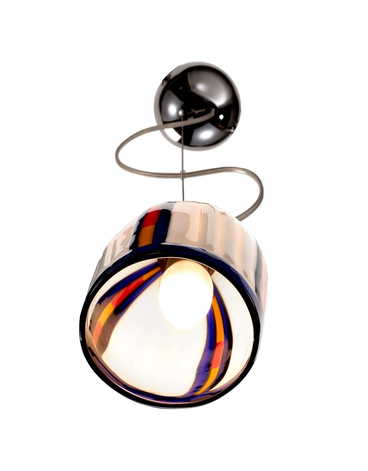 Candy - Cream Murano Handmade Glass Pendant Lamp от Forzieri.com INT