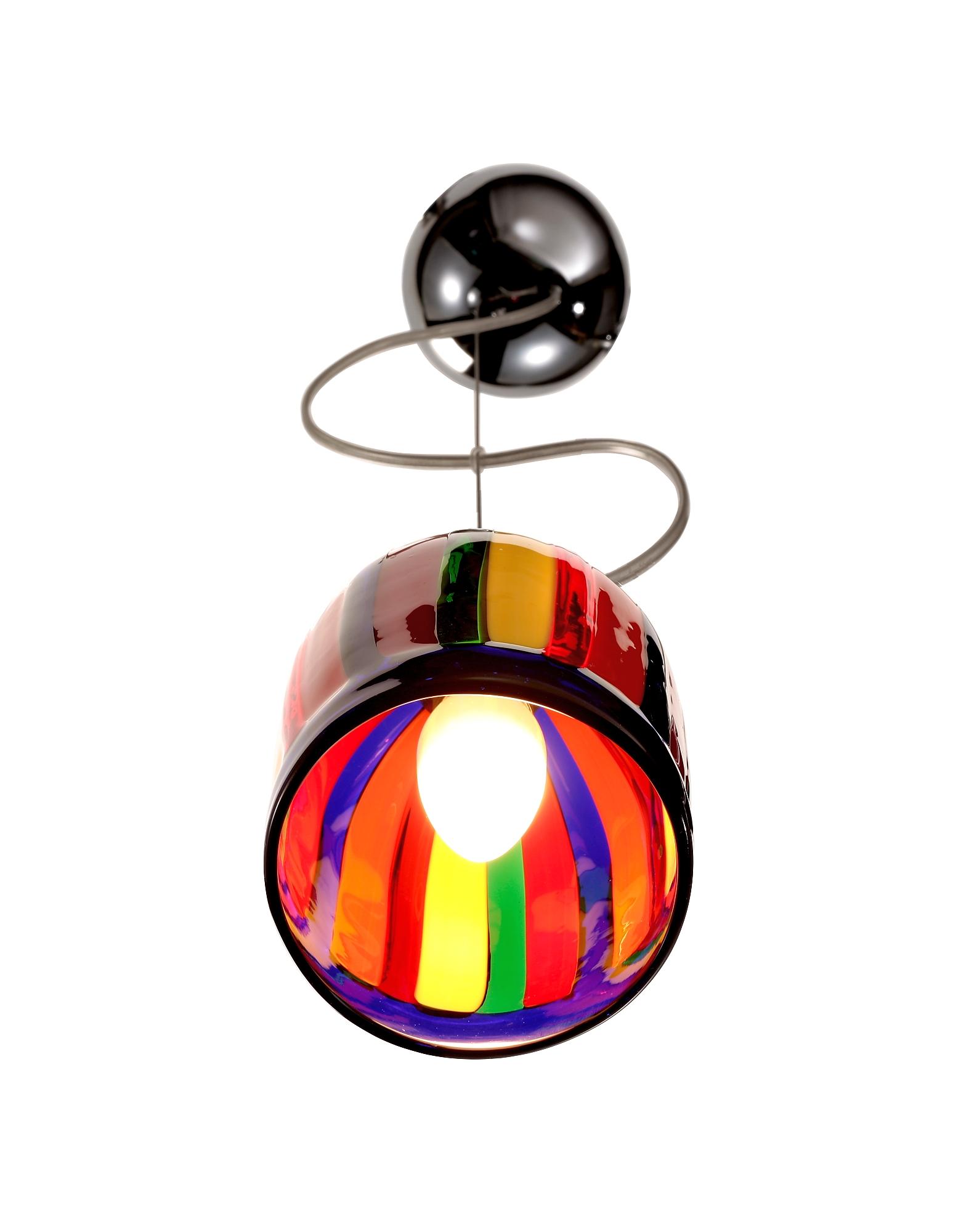Eleganza - Multicolor Murano Handmade Glass Pendant Lamp от Forzieri.com INT