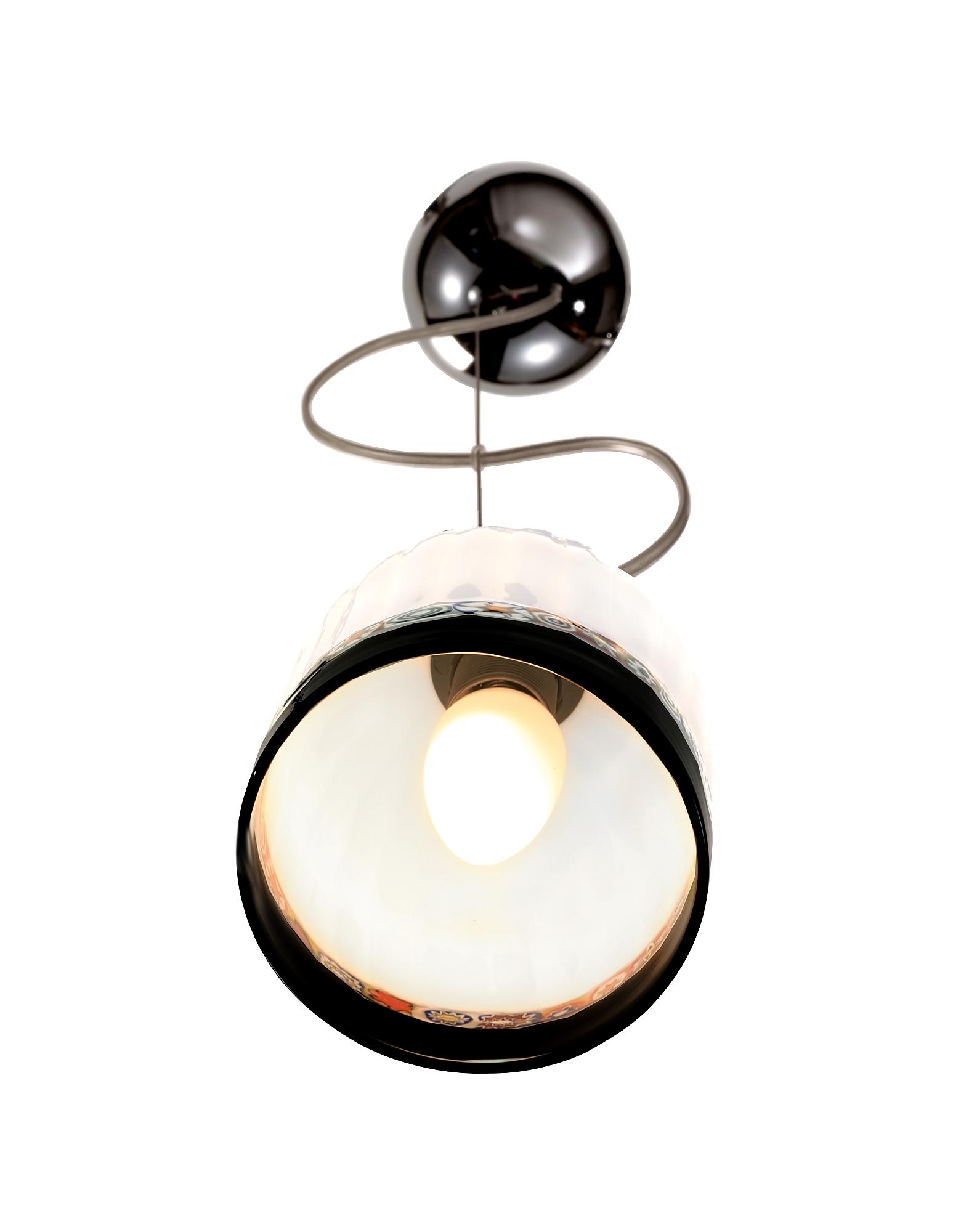 Greca - Cream Murano Handmade Glass Pendant  Lamp от Forzieri.com INT