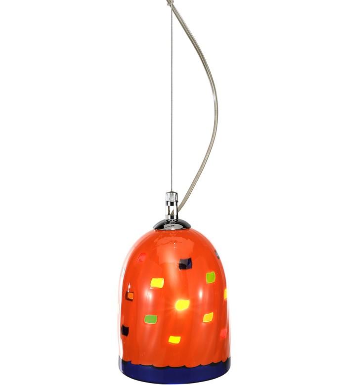 mega rancio lampe abat jour fait main en verre de. Black Bedroom Furniture Sets. Home Design Ideas