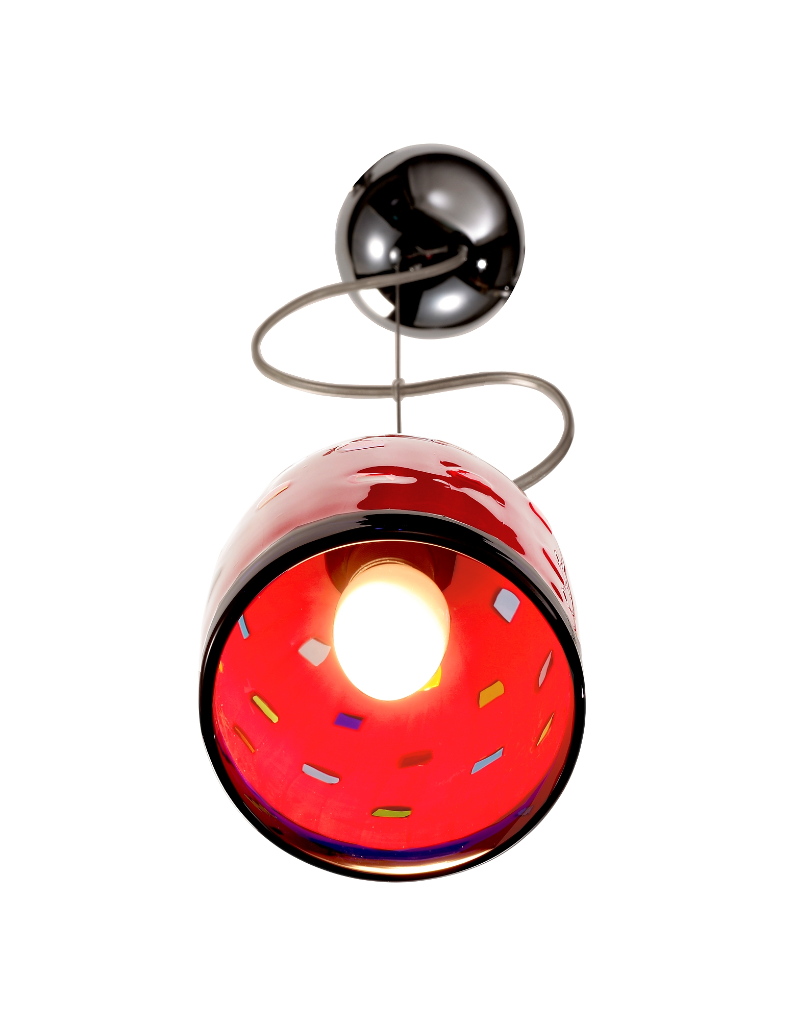 Meg - Red Murano Handmade Glass Pendant Lamp от Forzieri.com INT