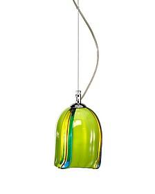 Pistacchio - Murano Handmade Glass Pendant Lamp  - Voltolina