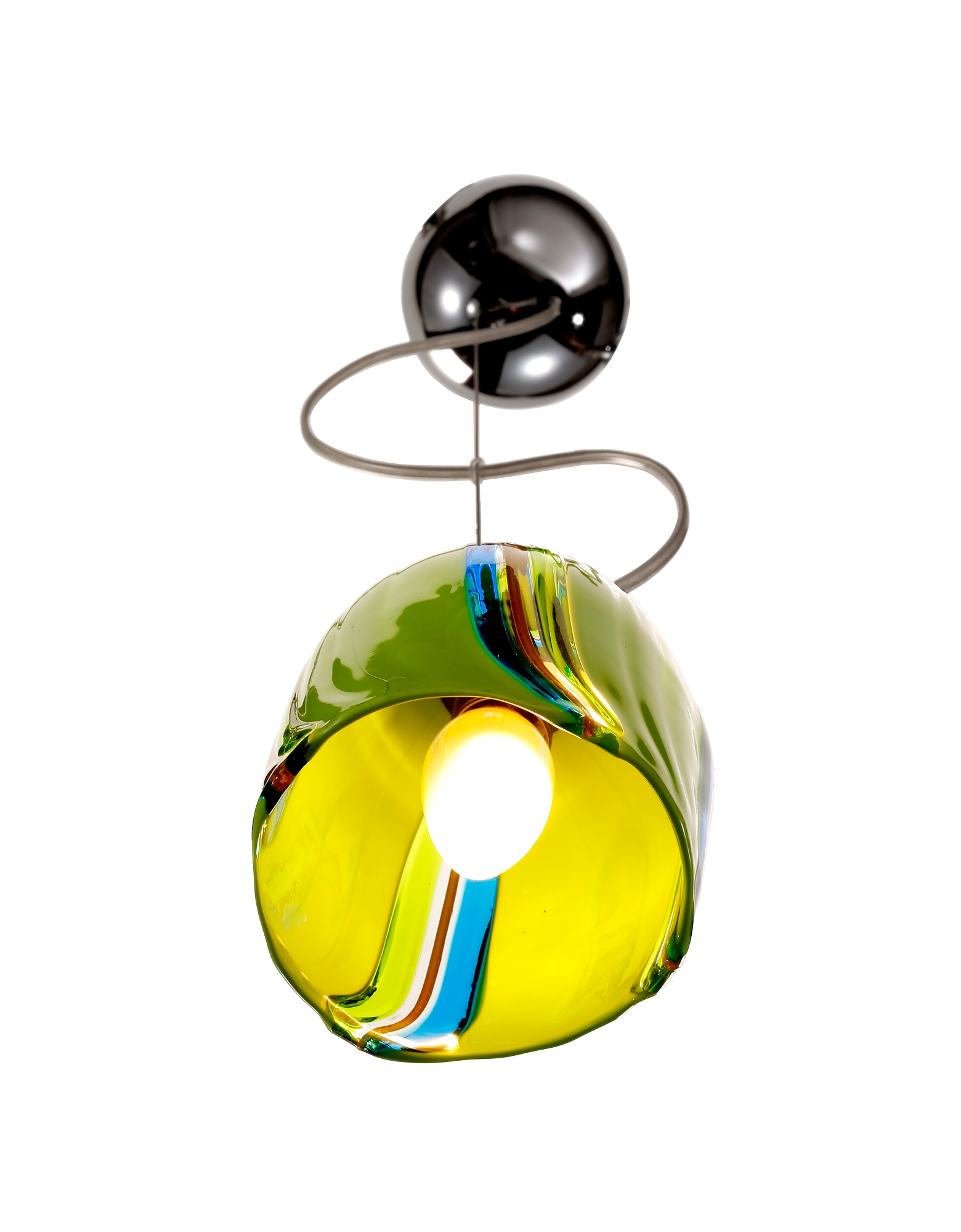 Pistacchio - Murano Handmade Glass Pendant Lamp от Forzieri.com INT