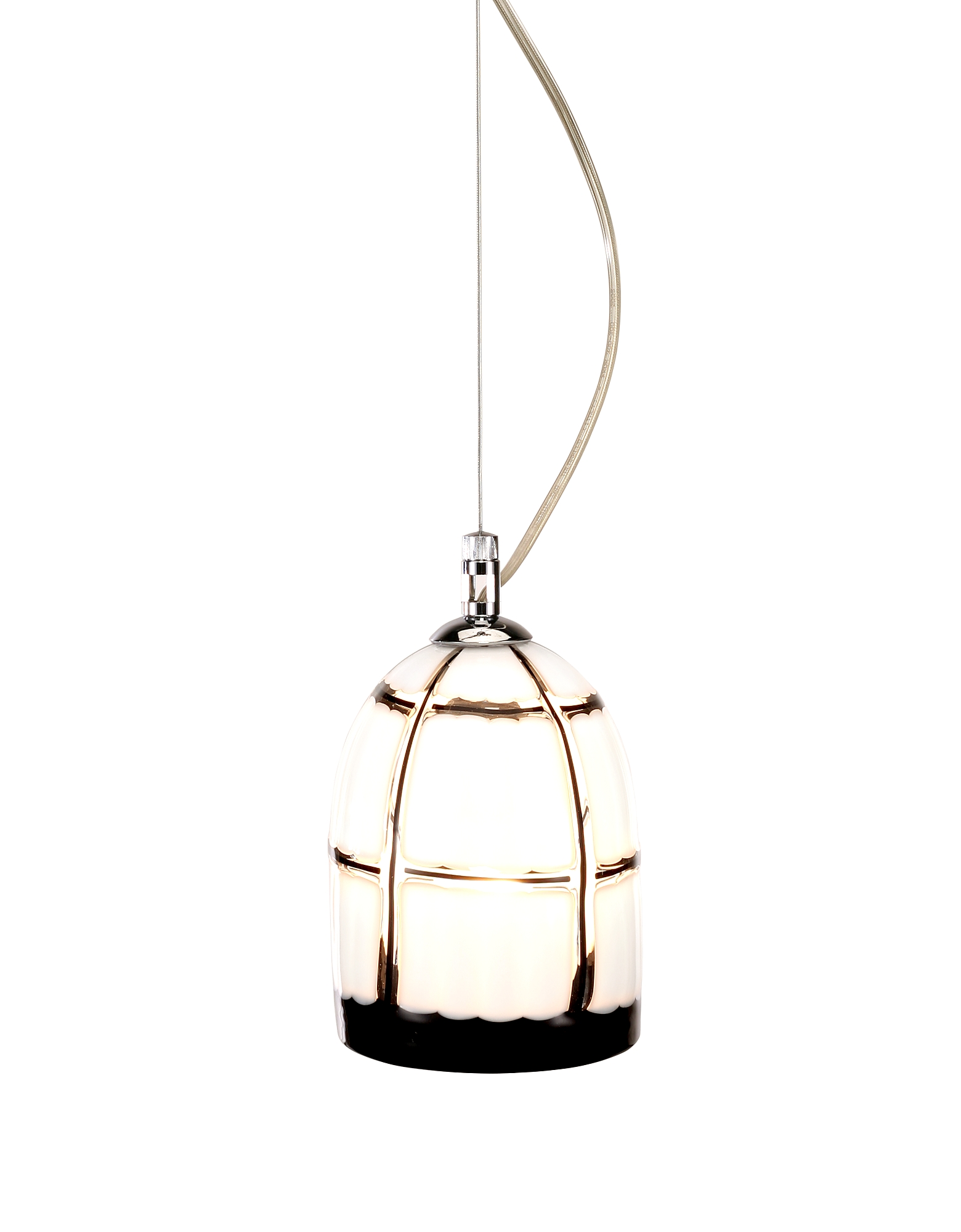 Voltolina Designer Decor & Lighting, Quadri - Murano Handmade Glass Pendant Lamp