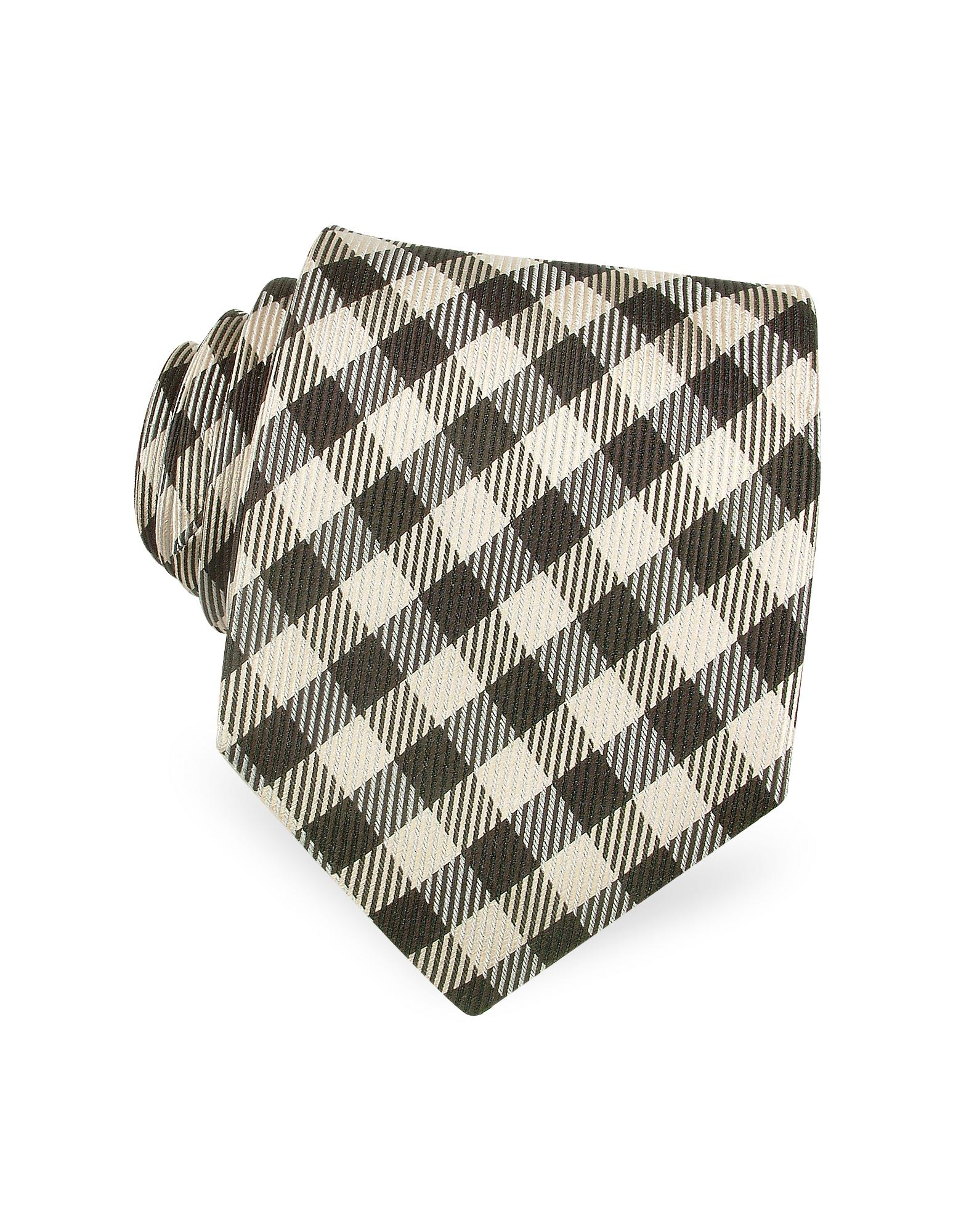 Valentino Garavani Checked Silk Tie
