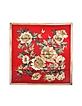 Floral Printed Silk Square Scarf - Valentino