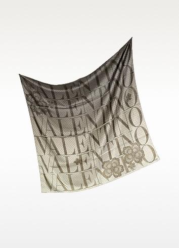 Signature Silk Square Scarf - Valentino